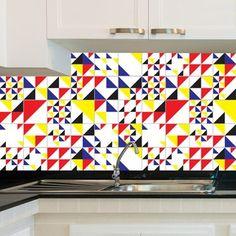 Adesivo de Azulejo - Color - 020Az