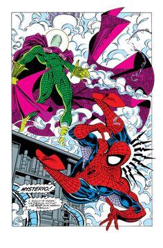 Spidey Vs. Mysterio in The Amazing Spider-Man #338 - Erik Larsen & Mike Machlan