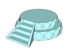 Steven Universe - Warp Pad Free Papercraft Download - http://www.papercraftsquare.com/steven-universe-warp-pad-free-papercraft-download.html#DisplayStand, #StevenUniverse, #WarpPad