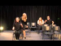 Theatre Game #52 - Character Bus. From Drama Menu - drama games & ideas for drama. - YouTube