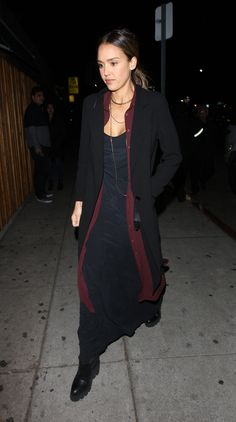 Jessica Alba at the Nice Guy in West Hollywood 1/24/16