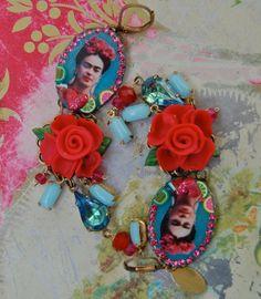Liz Blair's art and fashion: Frida Kahlo stuff on Etsy