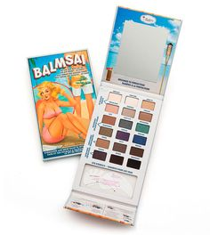theBalm cosmetics at Kohl's - Shop the full line of cosmetics products, including this theBalm Balmsai Eyeshadow & Brow Palette With Shaping Stencils, at Kohl's. Brow Palette, Eyeshadow Palette, Makeup Eyeshadow, Makeup Brushes, The Balm Makeup, Makeup Set, Beauty Makeup, Princess Beauty, Tattoo Care