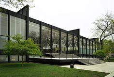 Crown Hall - Chicago (Mies van der Rohe)