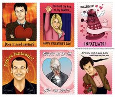 Doctor Who Valentines Day Card Printable-I'm just nerdy enough to do this!