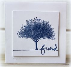 IC394 Friend by Biggan - Cards and Paper Crafts at Splitcoaststampers