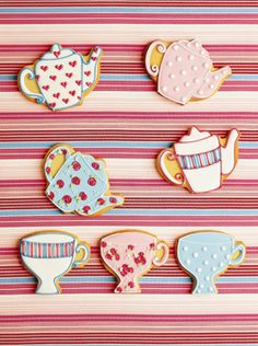 for my one day tea party bridal shower?