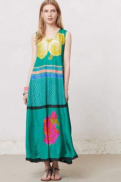 Grandiflora Maxi Dress - anthropologie.com