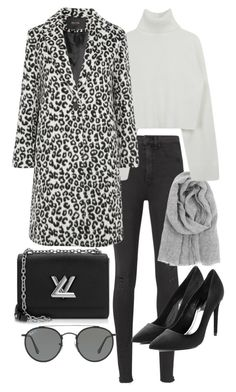 """""""Untitled #22556"""" by florencia95 ❤ liked on Polyvore featuring rag & bone, Lapuan Kankurit, Maje, Alexander Wang, Louis Vuitton and Ray-Ban"""