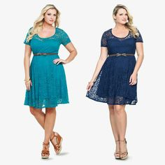 Torrid belted dress....absolutely in love with Torrid's dresses this season