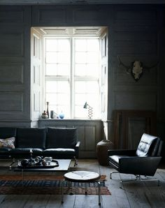 great room ... dark shades, bright light with cool stuff