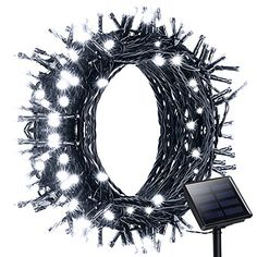 Litom Solar Outdoor 200 LED String Lights 7218 ft Solar Decorative Power Light with 8 Working Modes * Check out the image by visiting the link.