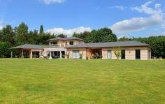 Cote Fleurie, Deauville : Maison d'architecte à ossature bois résolument…