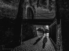 Pécs, Barbakán Brooklyn Bridge, Hungary, Cities, Black And White, Travel, Black White, Trips, Black N White, City
