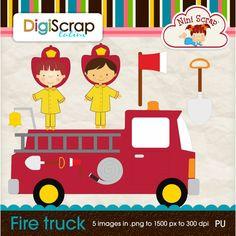 Fire Truck - It's Free! : DigiScrap Latino