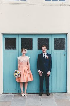 Homemade Retro Seaside Wedding | Miss Gen Photography | Bridal Musings Wedding Blog