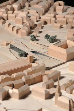 Bauhaus Museum, Weimar, architectural model, modelo, maquette