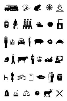 Isotype #isotype #design #icons #pictograms repinned by Awake — http://designedbyawake.com