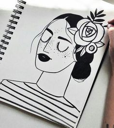 Doodle Art Drawing, Art Drawings Sketches, Painting & Drawing, Dibujos Zentangle Art, Illustrations, Illustration Art, Mandala Art Lesson, Doodle Art Designs, Arte Sketchbook