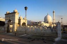 Hazratbal Srinagar pristine white