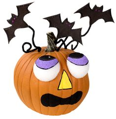 DecoArt® Batty Pumpkin #halloween #craft