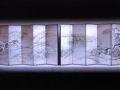 波図屏風,酒井抱一,17th century,Japan