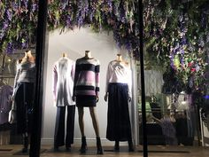 """CLUB MONACO, 5th Avenue, New York, """"The Beginning of Spring"""", photo by Stylecurated, pinned by Ton van der Veer"""