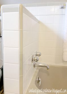 Paint tiles instead of replacing them! Sherwin Williams, tint the color of paint