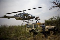 Land Rover #helicopter #rescue