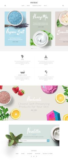 Cosmetics Store Landing Page