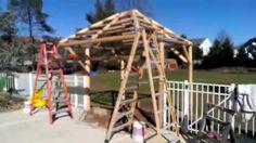 Tiki Kev - New 10 x 10 Tiki Hut - Warrington Pa, Video 4