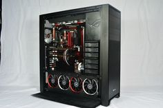 Corsair 900D Rigid tube water cooled, slightly mod - The Corsair User Forums