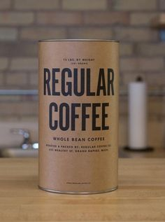 Regular Coffee subscription box: Fantastic gift idea, affordable, and how great is that packaging?