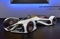 The Chevy Chaparral 2X Vision Gran Turismo concept was revealed this week at the Los Angeles Auto Show and will be part of a downloadable update for PlayStation 3's Gran Turismo 6 www.woodwheaton.com