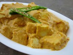 Paneer Korma Indian Cheese, Indian Food Recipes, Ethnic Recipes, Korma, Thai Red Curry, Recipies, Chicken, Indie, Recipes