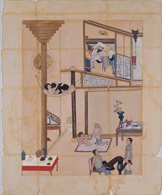 adriana varejão, cena de interior II, 1994