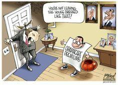 Political Cartoon: 'Tricky Treat?' By Gary Varvel - Kaiser Health News