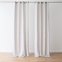 Every room needs the perfect set of curtains to finish off its look. Our Terra linen curtains come in a choice of 8 elegant colours and will add a natural, easy-going charm to your home! Linen Curtains, Curtain Fabric, Linen Bedding, Bath Linens, Kitchen Linens, Shades Of White, Table Linens, Colours, Elegant