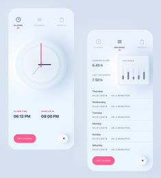 Sleep Tracker App by Ali Sayed – Mockups.space Sleep Tracker App by Ali Sayed Sleep Tracker App by Ali Sayed Web Mobile, Mobile Web Design, App Ui Design, User Interface Design, Flat Design, Design Design, Interaction Design, App Design Inspiration, Daily Inspiration