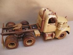 wooden Mack B