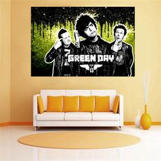 Custom canvas poster Cartoon Green Day cloth fabric wall poster print Silk Fabric FREE SHIPPING SQ0702. Yesterday's price: US $7.98 (6.48 EUR). Today's price: US $5.67 (4.62 EUR). Discount: 29%.