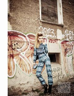 #LineBrems by #EllenVonUnwerth for #VogueItalia August 2014