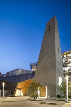 Image 10 of 52 from gallery of Ensemble Pastoral Catholique / Atelier d'Architecture Brenac-Gonzalez. Photograph by Sergio Grazia