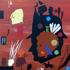 Chris Heaphy 'Shadow Play: People of the Land. Auckland Art Gallery, Artist Inspiration, Maori Art, Culture Art, Artist Models, Visual Art, Art, Jr Art, Nz Art
