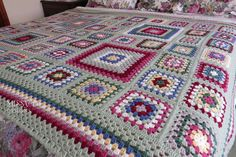 http://www.ravelry.com/projects/dainamickus/granny-square-blanket-for-couch