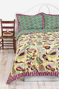 Un couvre-lit cachemire