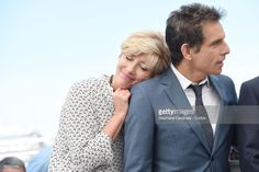 Actors Emma Thompson and Ben Stiller attend 'The Meyerowitz Stories' photocall during the 70th annual Cannes Film Festival at Palais des Festivals on May 21, 2017 in Cannes, France.