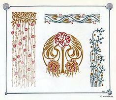 Art Nouveau Art Deco On Pinterest Art Nouveau Toulouse And