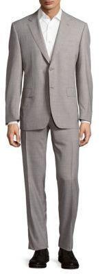 Canali Venezia Textured Wool Suit