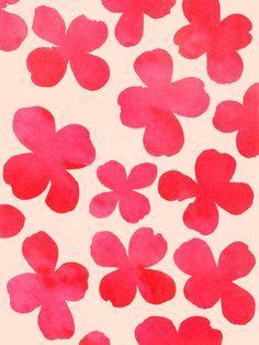 Dogwood_Pink - Art Print by Garima Dhawan